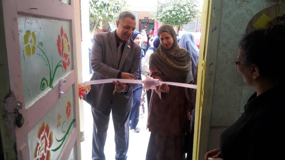 افتتاح معرض الصحافة المدرسية ببنى سويف