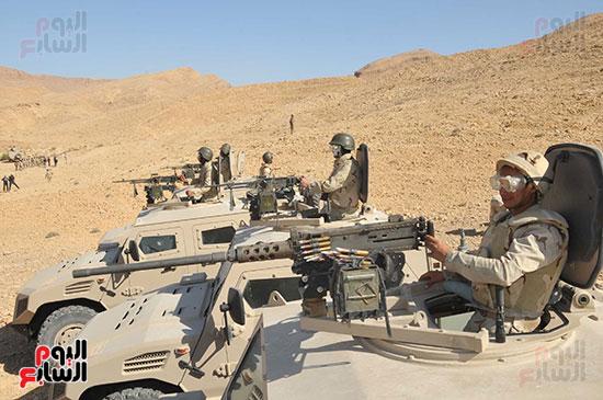 الجيش الثالث يقتحم جبل الحلال