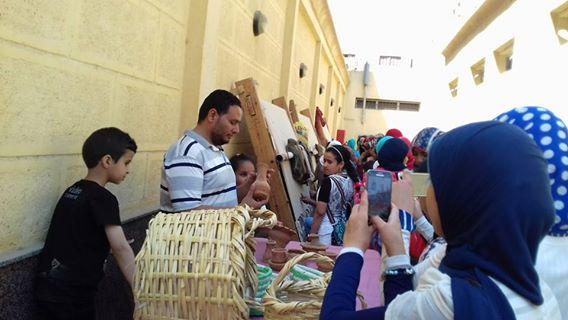 الاحتفال بيوم التراث العالمى بمتحف آثار ملوى (1)