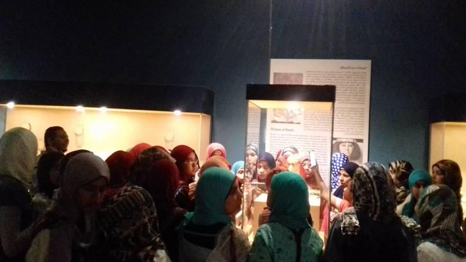 الاحتفال بيوم التراث العالمى بمتحف آثار ملوى (3)