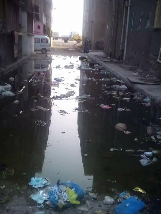 مشاكل الصرف الصحى فى مساكن النوبارية (1)