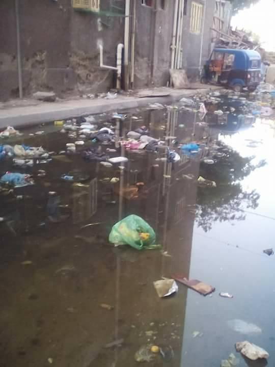 مشاكل الصرف الصحى فى مساكن النوبارية (2)