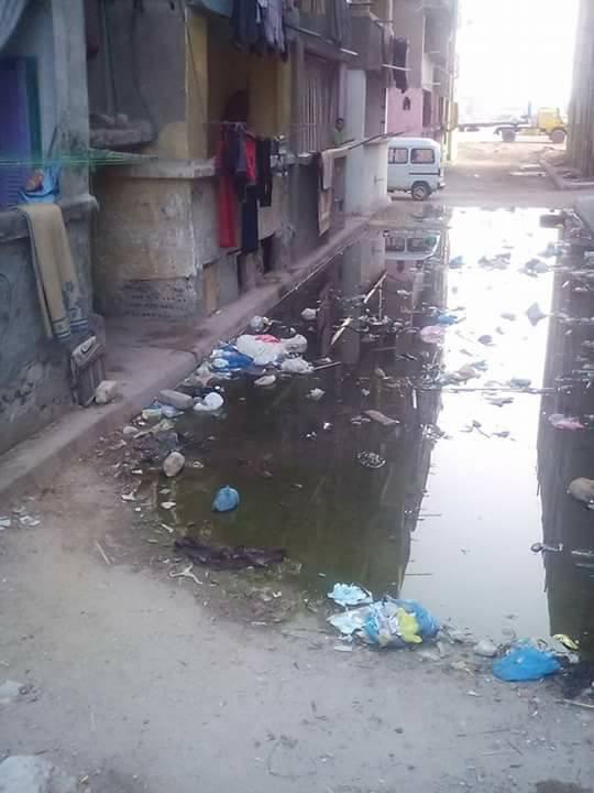 مشاكل الصرف الصحى فى مساكن النوبارية (5)