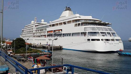جانب اخر لوصول السفينة