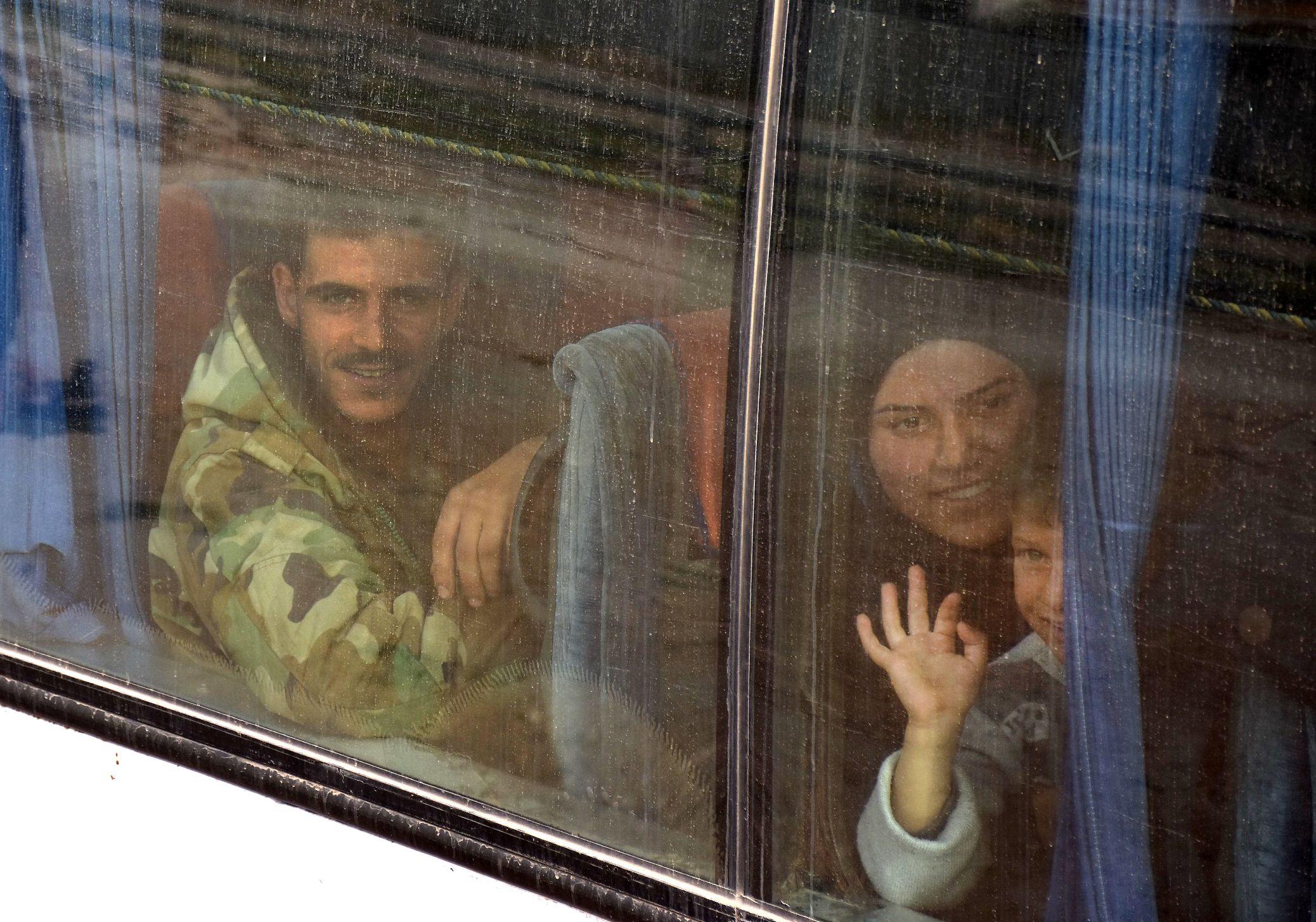 إجلاء المواطنين فى سوريا