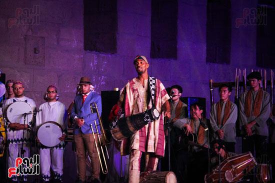 الطبول من أجل السلام مهرجان القلعة بحضور وزير الثقافة (2)