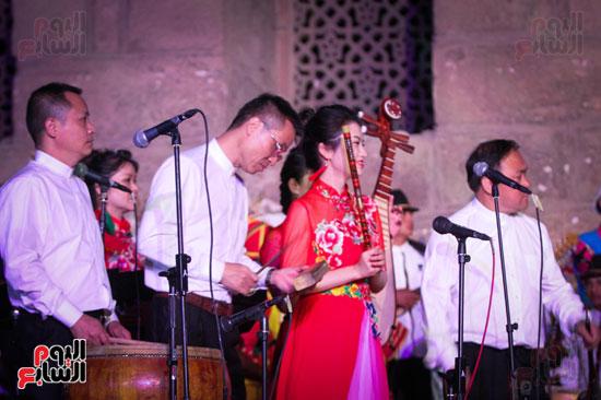 الطبول من أجل السلام مهرجان القلعة بحضور وزير الثقافة (36)