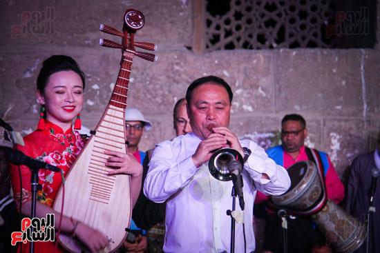 الطبول من أجل السلام مهرجان القلعة بحضور وزير الثقافة (11)