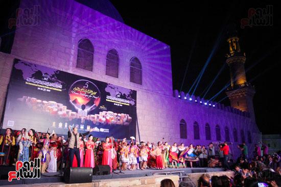 الطبول من أجل السلام مهرجان القلعة بحضور وزير الثقافة (25)