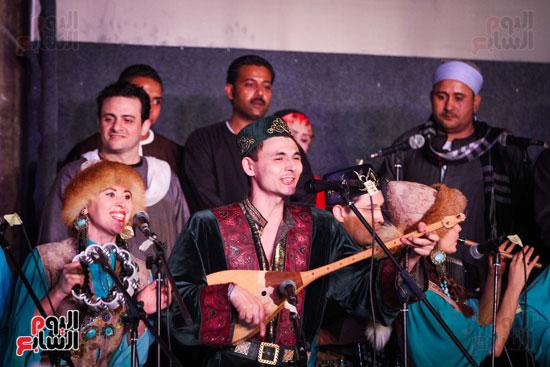 الطبول من أجل السلام مهرجان القلعة بحضور وزير الثقافة (16)