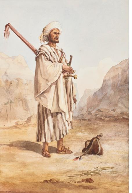 راعى الصحراء المصرى