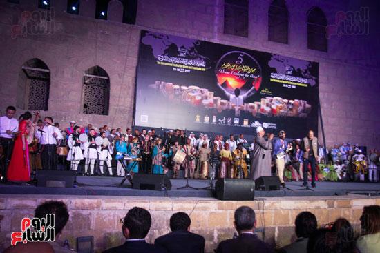 الطبول من أجل السلام مهرجان القلعة بحضور وزير الثقافة (37)