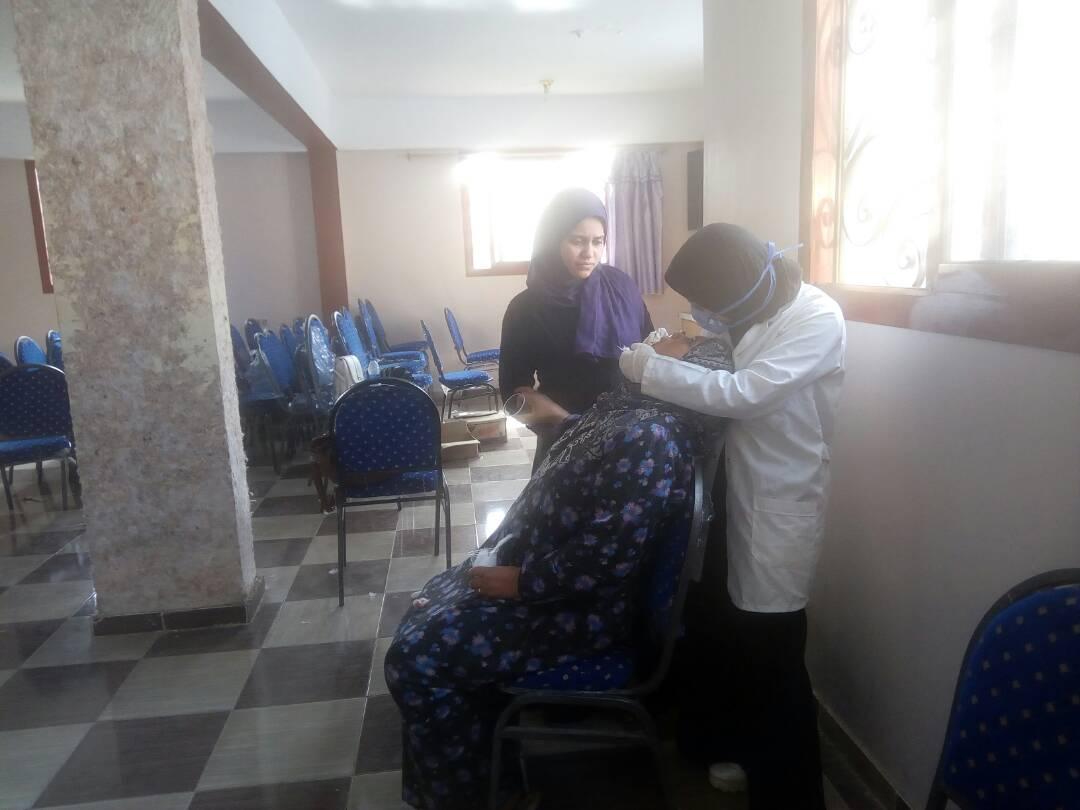 قافلة طبية لجامعة الإسكندرية بالبحيرة