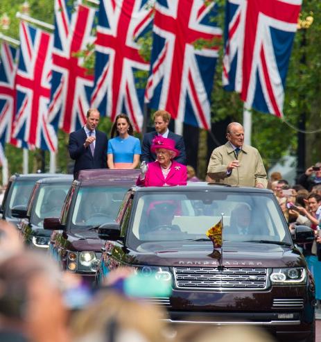 مراسم احتفال الملكة