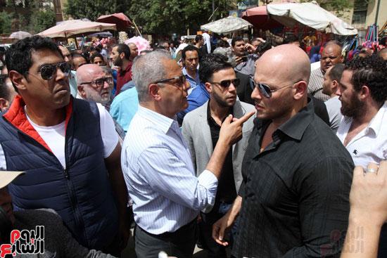 تشييع جثمان والدة المخرجين شريف وعمرو عرفة (11)
