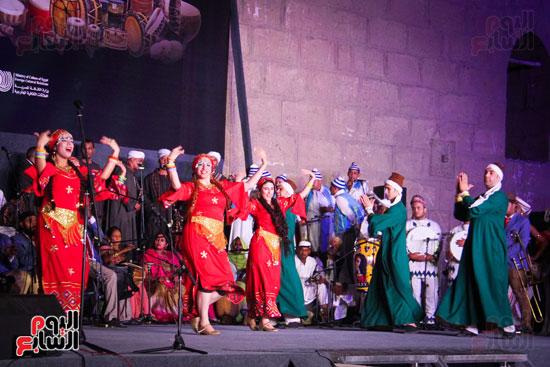 الطبول من أجل السلام مهرجان القلعة بحضور وزير الثقافة (4)