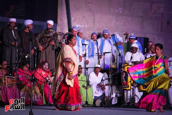 الطبول من أجل السلام مهرجان القلعة بحضور وزير الثقافة (5)