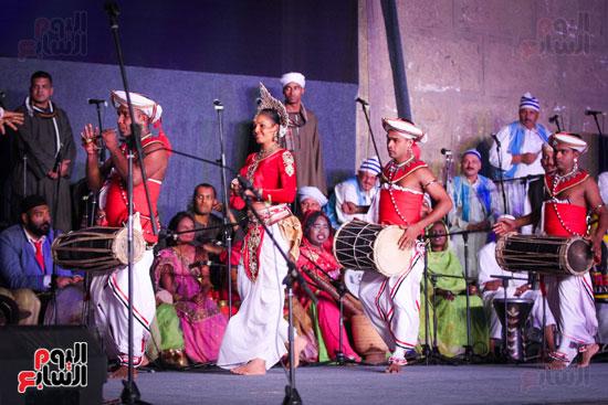 الطبول من أجل السلام مهرجان القلعة بحضور وزير الثقافة (17)