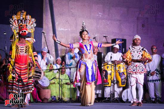 الطبول من أجل السلام مهرجان القلعة بحضور وزير الثقافة (18)
