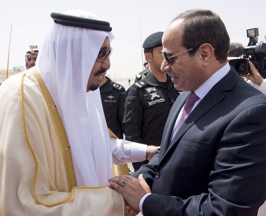الملك سلمان يستقبل الرئيس السيسى (5)