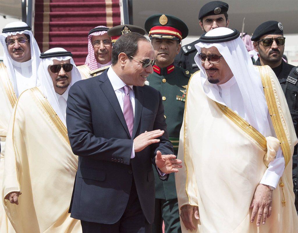 الملك سلمان يستقبل الرئيس السيسى (3)