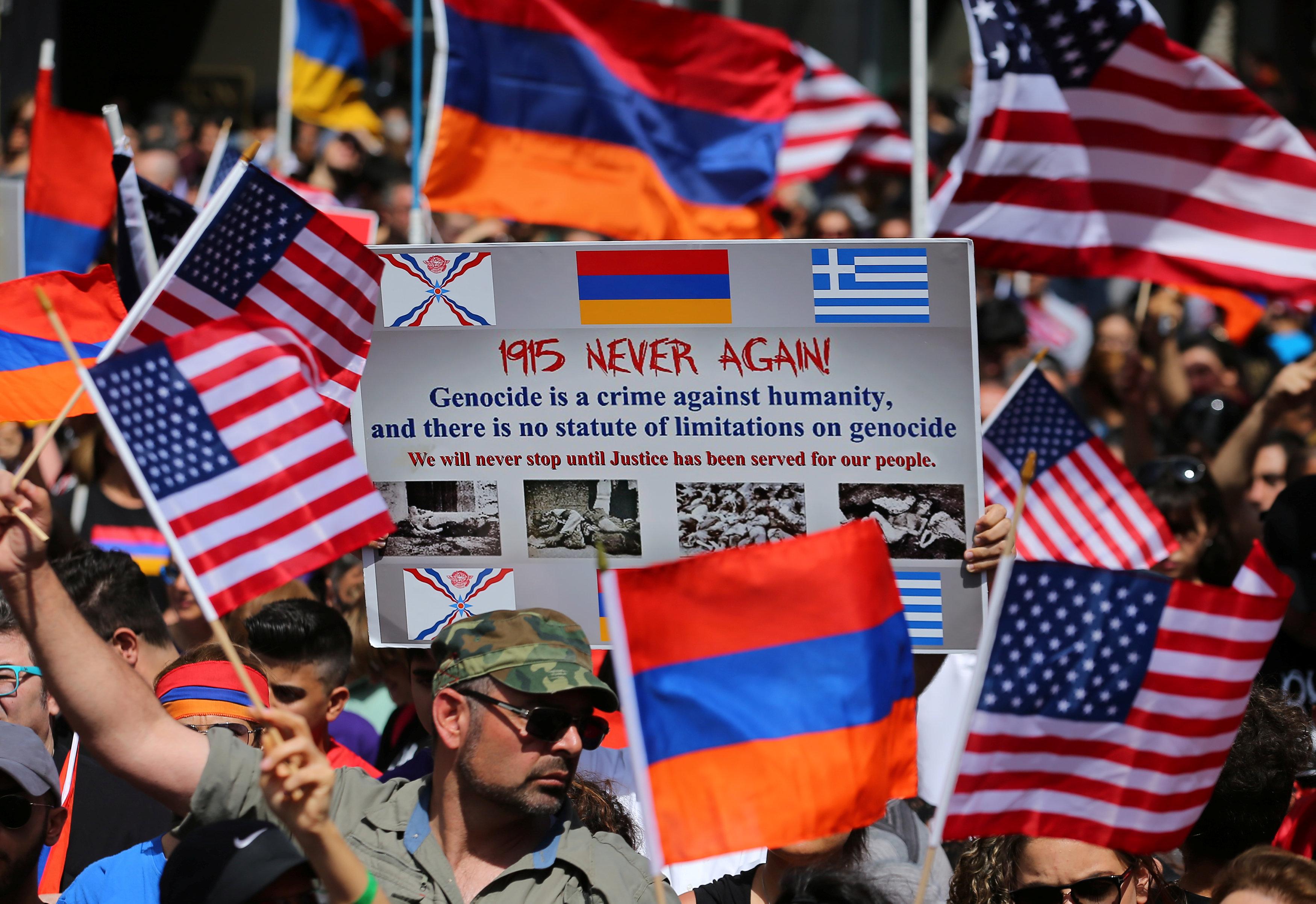 تظاهرات الأرمن