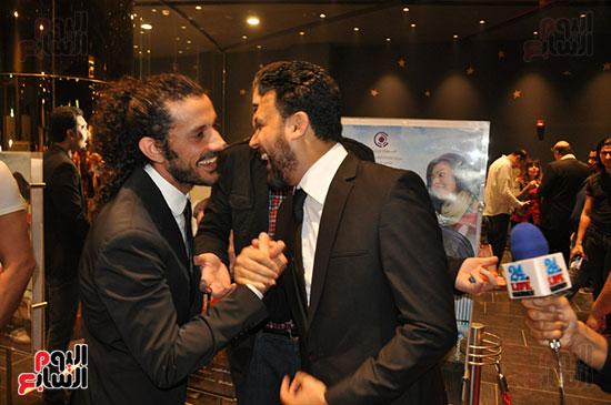 صناع فوبيا يحتفون بـ أحمد راتب (35)