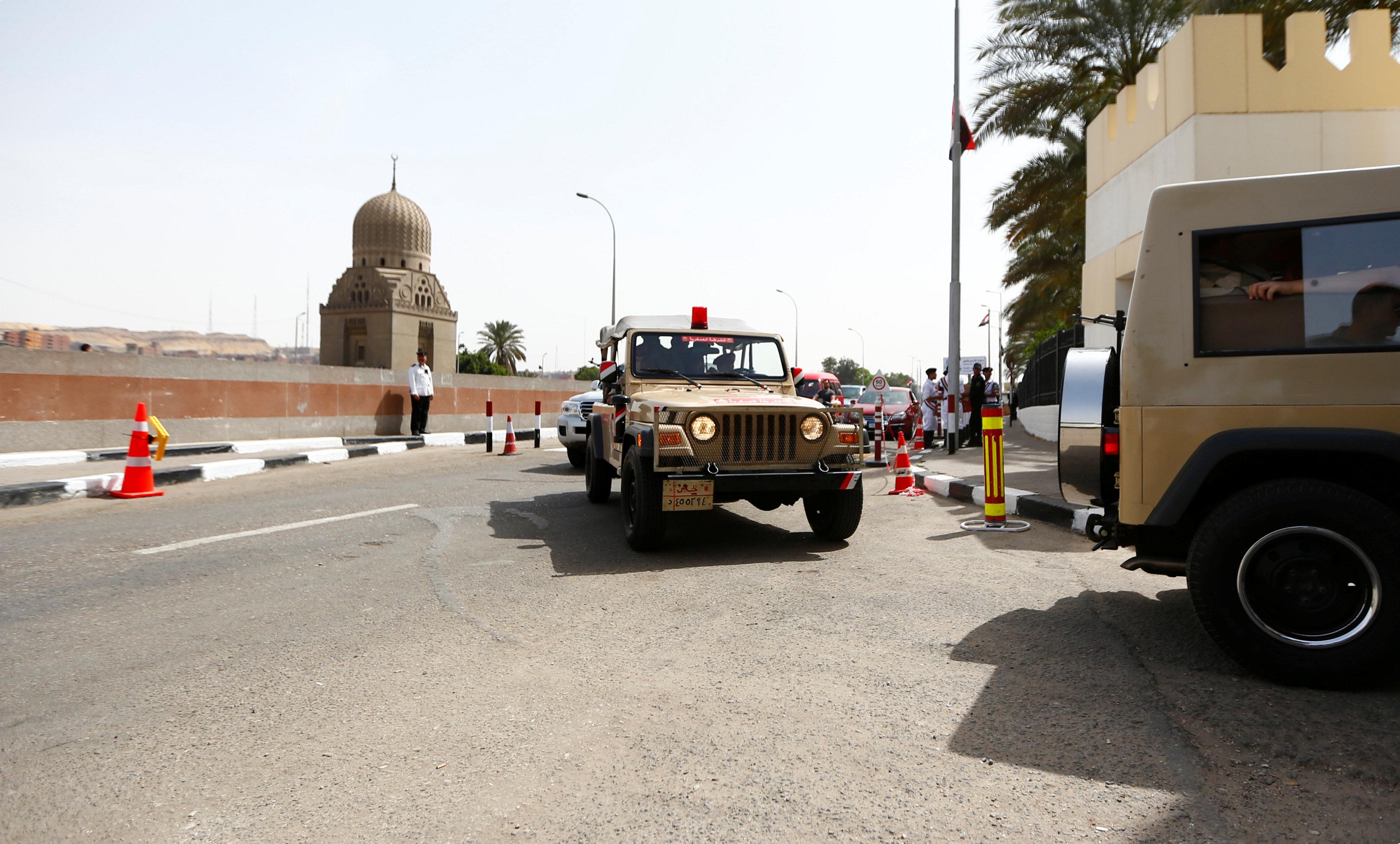 قوات التدخل السريع تشارك فى تأمين زيارة بابا الفاتيكان