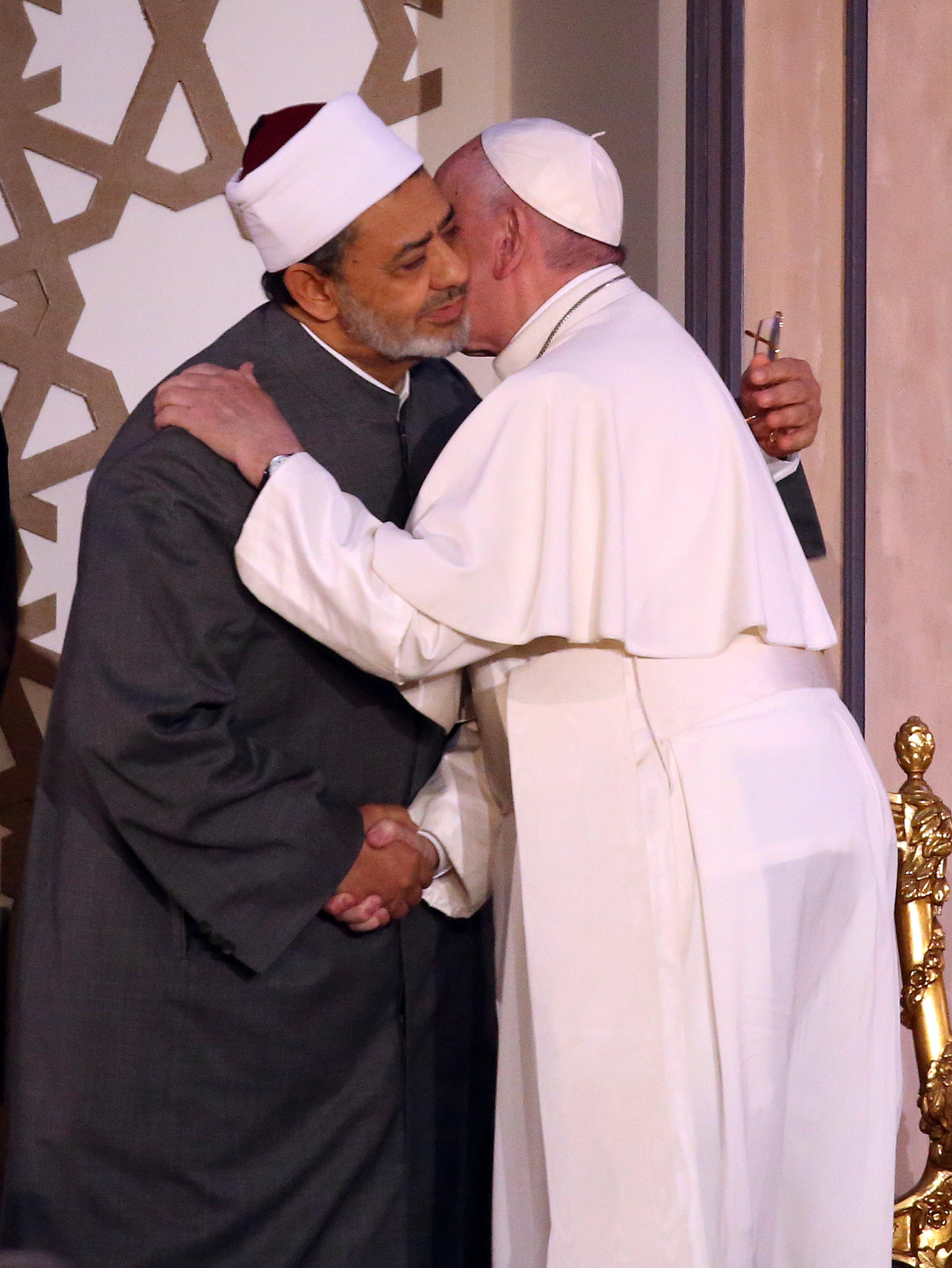 شيخ الأزهر والبابا