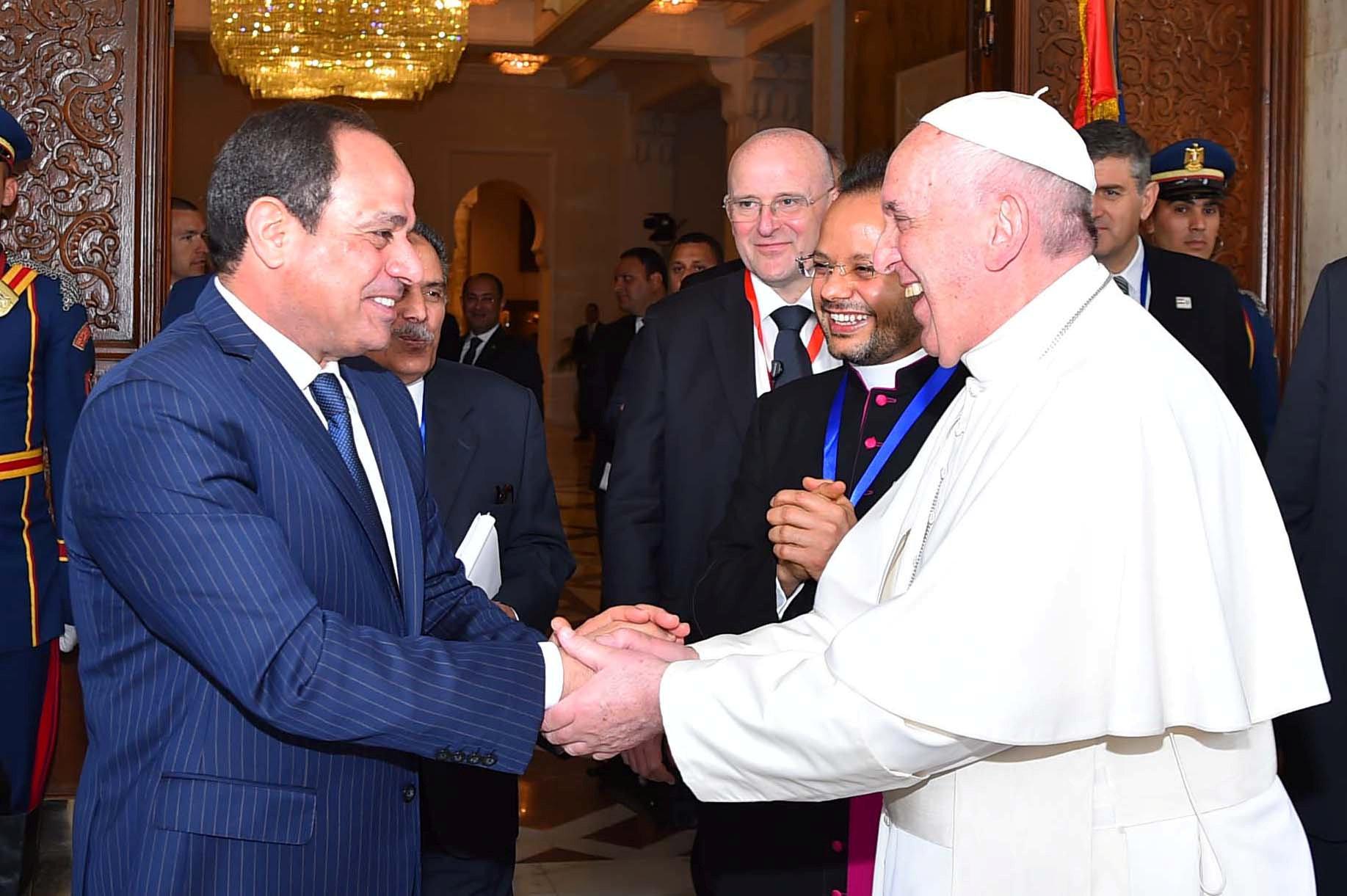 السيسي والبابا