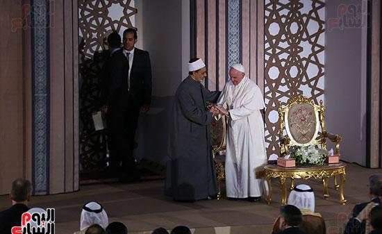 مؤتمر السلام العالمى البابا الفاتيكان احمد الطيب (22)