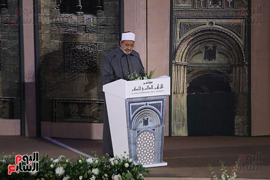 مؤتمر السلام العالمى البابا الفاتيكان احمد الطيب (6)