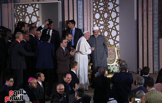 مؤتمر السلام العالمى البابا الفاتيكان احمد الطيب (15)