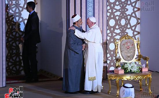 مؤتمر السلام العالمى البابا الفاتيكان احمد الطيب (9)