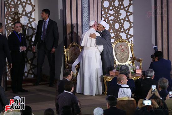 مؤتمر السلام العالمى البابا الفاتيكان احمد الطيب (18)