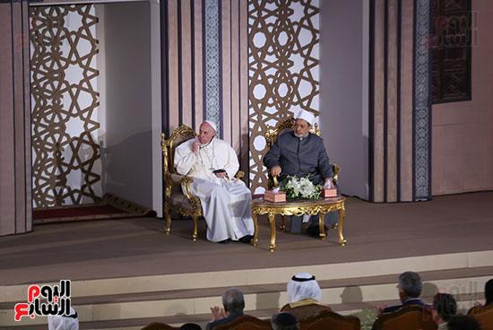مؤتمر السلام العالمى البابا الفاتيكان احمد الطيب (21)