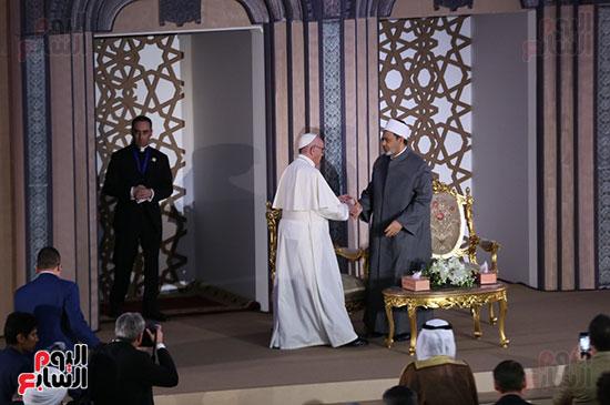 مؤتمر السلام العالمى البابا الفاتيكان احمد الطيب (17)