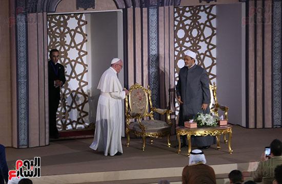 مؤتمر السلام العالمى البابا الفاتيكان احمد الطيب (27)