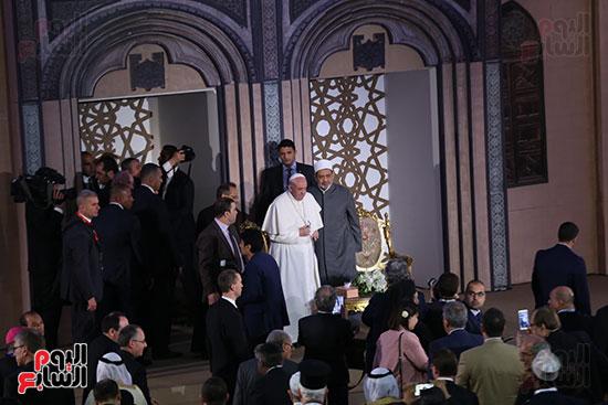 مؤتمر السلام العالمى البابا الفاتيكان احمد الطيب (13)