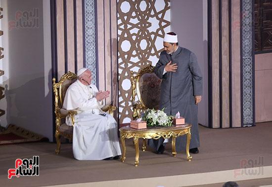 مؤتمر السلام العالمى البابا الفاتيكان احمد الطيب (8)
