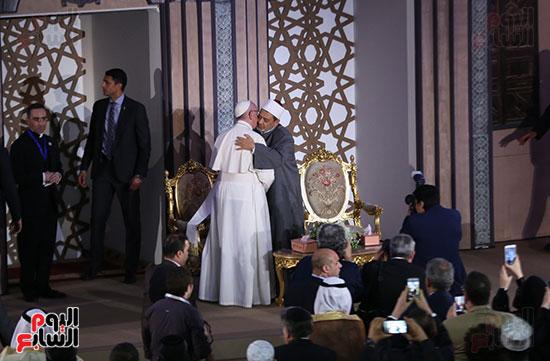 مؤتمر السلام العالمى البابا الفاتيكان احمد الطيب (11)