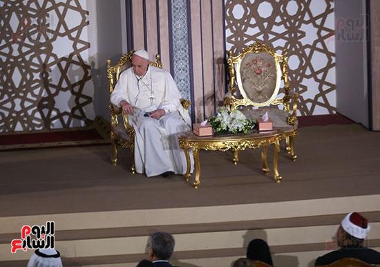 مؤتمر السلام العالمى البابا الفاتيكان احمد الطيب (4)