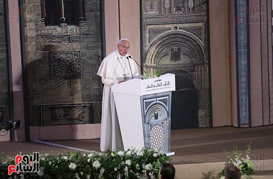 مؤتمر السلام العالمى البابا الفاتيكان احمد الطيب (2)