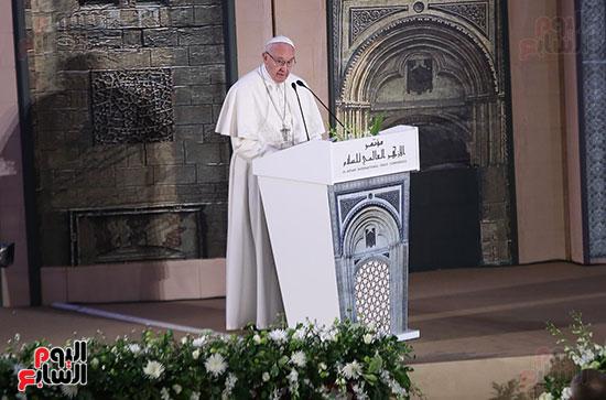 مؤتمر السلام العالمى البابا الفاتيكان احمد الطيب (3)