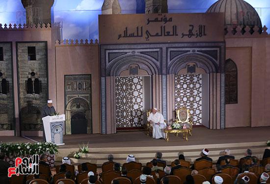 مؤتمر السلام العالمى البابا الفاتيكان احمد الطيب (12)