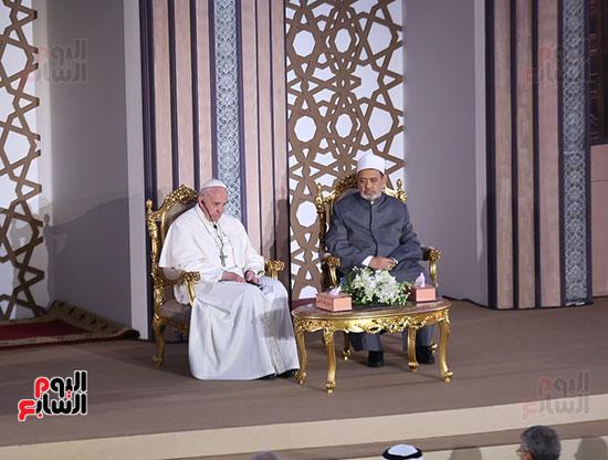 مؤتمر السلام العالمى البابا الفاتيكان احمد الطيب (7)
