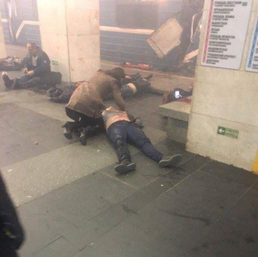 إغلاق جميع محطات انفاق روسيا اليوم بسبب تفجير مترو مدينة سان بطرسبورغ