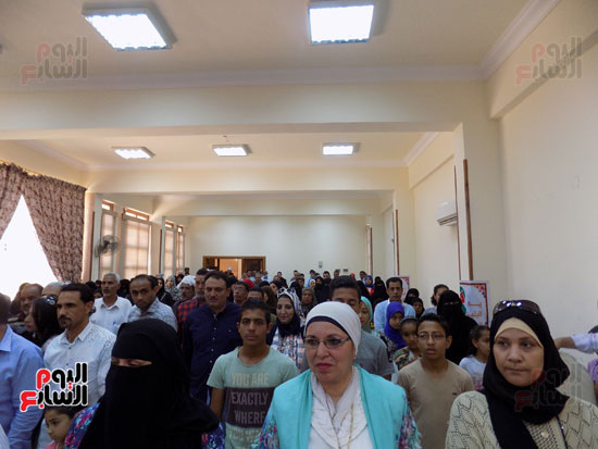 رئيس مدنية طور سيناء اثناء الاحتفال