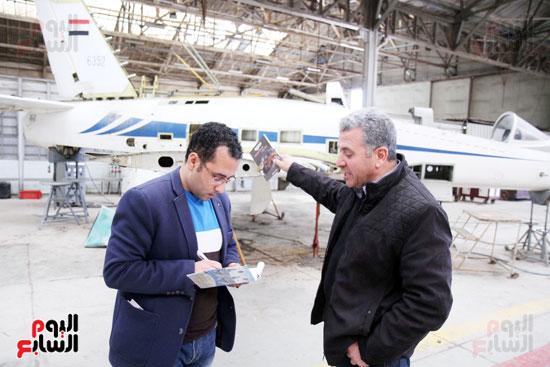 مدير ورشة عمرة الطائرة بمصنع الطائرات