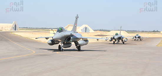 مصر تتسلم 3 طائرات رافال جديدة